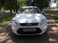 FORD MONDEO 1.6 TDCi Eco Zetec + FREE 3M WARRANTY + FINANCE AVAILABLE CALL 01162149247 (white) 2012