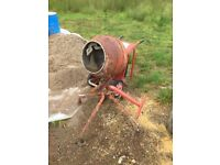 Petrol mixer with stand and robin 3.0 engine