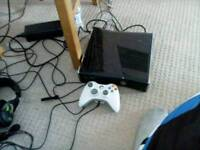 Xbox 360 with controller and all leads