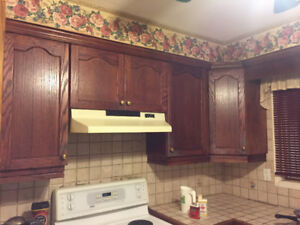 Kitchen re model. Cabinets for sale
