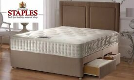 AS NEW - BARGAIN – ORTHO – Gwendolan -HIGH QUALITY LUXURIOUS MATTRESS - COST £1800 -SELL -ONLY £275