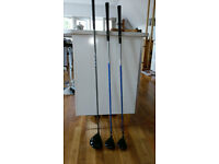 Ping G5 Driver, 3 Wood and 5 Wood
