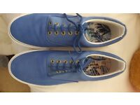 Mens Size 12 Casual Shoe Blue Brand New