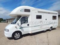 Bessacarr E795, 2006, 5 Berth U-Shaped Lounge, Fiat 2.8D, Awning, Bike Rack, VGC