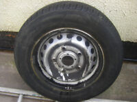FORD TRANSIT CUSTOM 2013+ STEEL WHEEL SPARE WHEEL WITH TYRE 215/65 R15