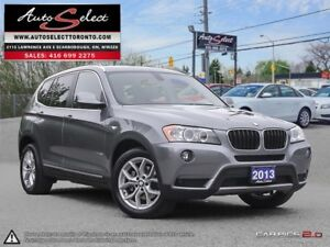 2013 BMW X3 xDrive28i AWD ONLY 93K! **NAVIGATION PKG** EXECUT...
