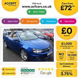 Volkswagen Eos Sport FROM £72 PER WEEK!