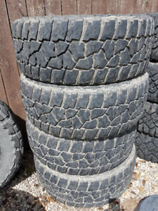 4 Mickey Thompson Baja MTZ P3 Tires 35X12.50R20