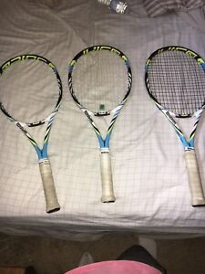 Wilson tennis racquets for sale (great condition)