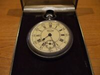Vintage SERVICES 'Scout' Pocket Watch