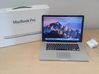 Cheap Apple Macbook Pro 15 (Mid 2010) with original box and disc