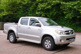 TOYOTA HILUX D-4D 3.0 HL3 Double Cab Pickup Manual 2007 One owner from new