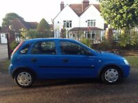 VAUXHALL CORSA 1.2 2004 MOT APRIL 2018 -FULL SERVICE HISTORY-STUNNING CLEAN CAR-CHEAP TAX/INSURANCE