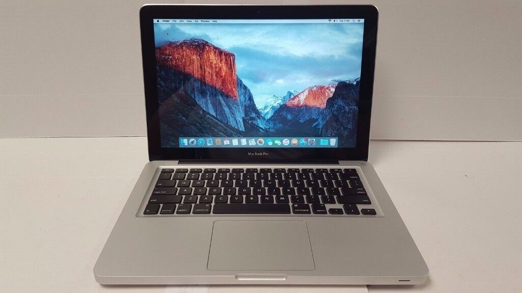 Macbook Pro 13 inch apple laptop Intel 2.4ghz 320gb or 256gb SSD hard drive 6gb or 8gb ramin Eltham, LondonGumtree - Macbook Pro 13 inch apple laptop Intel 2.4ghz 320gb or 256gb SSD hard drive 6gb or 8gb ram Macbook Pro 13 inch 2010 2011 laptop 13 inch widescreen 320gb hard drive (or 256gb SSD very fast solid state hard drive for an extra 40pounds if needed)) 6gb...