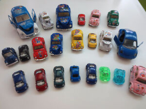 VW Beetle Car Figures - Lots