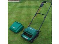 Qualcast Bosch Electric Lawn Mower FREE DELIVERY Cylinder Grass Cutting Trimmer Garden