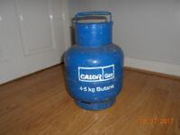 calor gas 4.5kg calor gas bottle almost empty