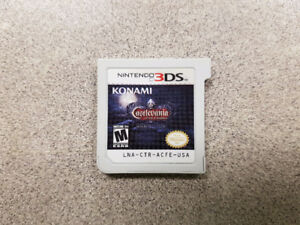 Castlevania Lords of Shadow Mirror of Fate 3DS Game