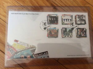 The Beatles Unopened Royal Mail First Day Cover Postage Stamps