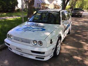1996 Jetta F&F replica. Auto. No safety