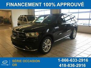Dodge Durango Limited ,awd, Cuir, Toit Ouvrant, 2016