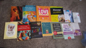 Assorted books $10 a piece
