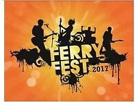 Ferryfest Weekend Camping Tickets x 2 - Fri 8 Sep 2017 - Sun 10 Sep 2017