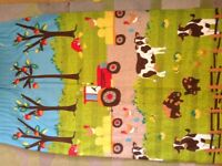 Farm theme curtains