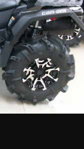 "14"" Can am xmr rims."