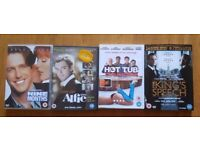 DVD Bundle x 4 includin The King's Speech, Alfie, Hot Tub Time Machine and Nine Months. £5