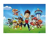 PAW PATROL Glasgow 2nd September/Well Below Face Value/4 tickets