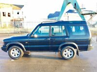 LAND ROVER DISCOVERY 2.5 Pursuit SUV 5dr Diesel Manual (262 g/km, 136 b (black) 2004