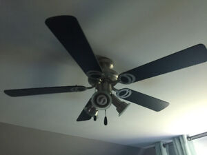 """3 light 42"""" Canarm ceiling fan 40$ OBO"""