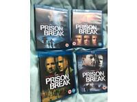 Prison Break Season 1-4 Blu Ray