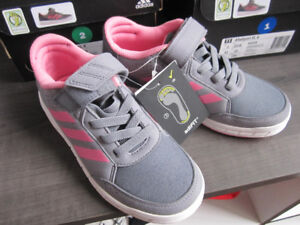adidas running shoes,  girls size 2, Br. New In Box