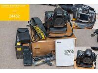 Nikon D700 SLR & Battery Grip