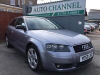 Audi A3 2.0 FSI Sport 3dr£1,445 p/x welcome FREE WARRANTY. NEW MOT