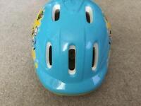 Bumble bee child's bike helmet