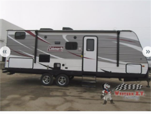 2018 COLEMAN 244 BH Affordable Family Fun!!