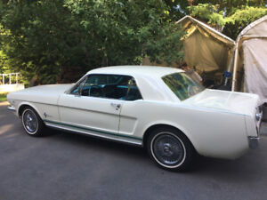 1966 Mustang Coupe - Restored to stock