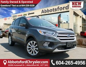 2017 Ford Escape Titanium Fully Loaded & Accident Free