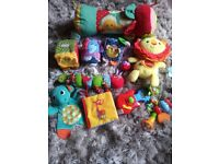 Baby sensory toy bundle