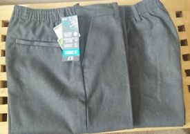 Boys grey school trousers