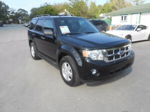2010 FORD ESCAPE 5 DOOR XLT SUV, 3 YEAR WARRANTY INCLUDED