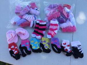 Baby Girl Socks ~ More than 40+ pairs!