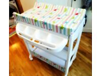 MyChild Peachy BABY CHANGING TABLE £29! RRP £99 at Mothercare
