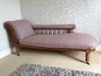 Beautiful Edwardian Chaise Lounge
