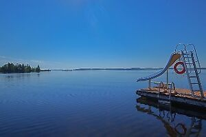 Pristine Lake Front Property With 1.56 Acres & 3 Car Garage