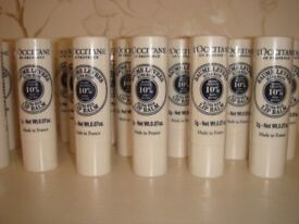 25 Brand New L'Occitane en Provence Lip Balm with Shea Butter Offered for Sale for £50