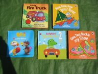 5 Hardback Books in Colour to Entertain and Teach Your Young Child for £5.00